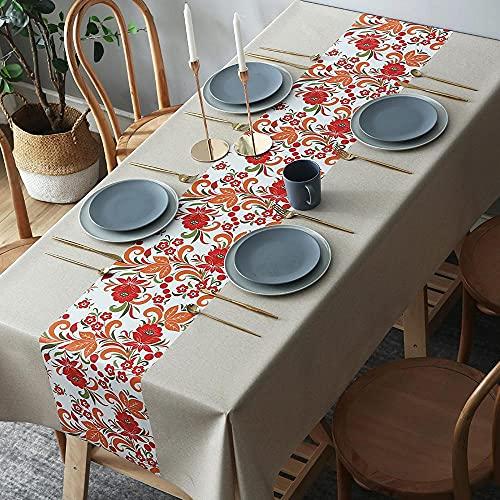 Tela de Mesa Impermeable y a Prueba de Aceite Tela de PVC Mesa de café Mesa de Mesa para decoración de mesa-03_120 * 160cm