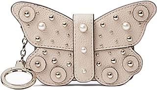 Kate Spade Butterfly Card Case Beige Larchmont Avenue Key Fob