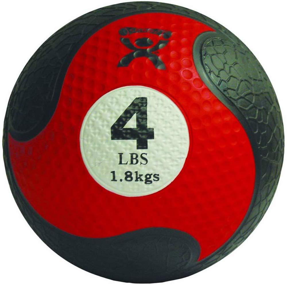 Cando-38348 CanDo Rubber Medicine Balls Red 4 lbs Phoenix 55% OFF Mall
