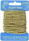 Design Works Crafts Glitter Gold Yarn Card
