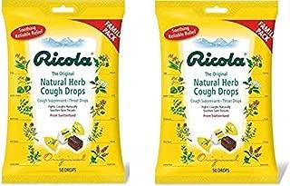Ricola Original Cough Drops 50 Drops(Pack of 2)