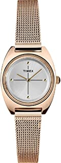 Timex Milano Petite Quartz Movement Gold  Dial Ladies Watch
