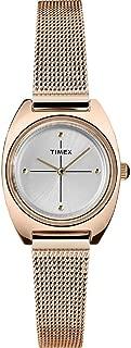 Timex Milano Petite Quartz Movement Gold Dial Ladies Watch