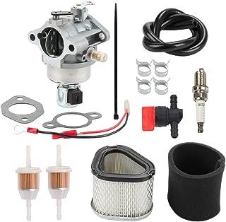 Venseri 20-853-33-S Carburetor for Kohler Courage SV Series SV530 SV540 SV590 SV600 SV591 SV601 SV610 SV620 15HP 17HP 18HP 19HP Engine # 12 853 117-S with Air Filter Oil Filter