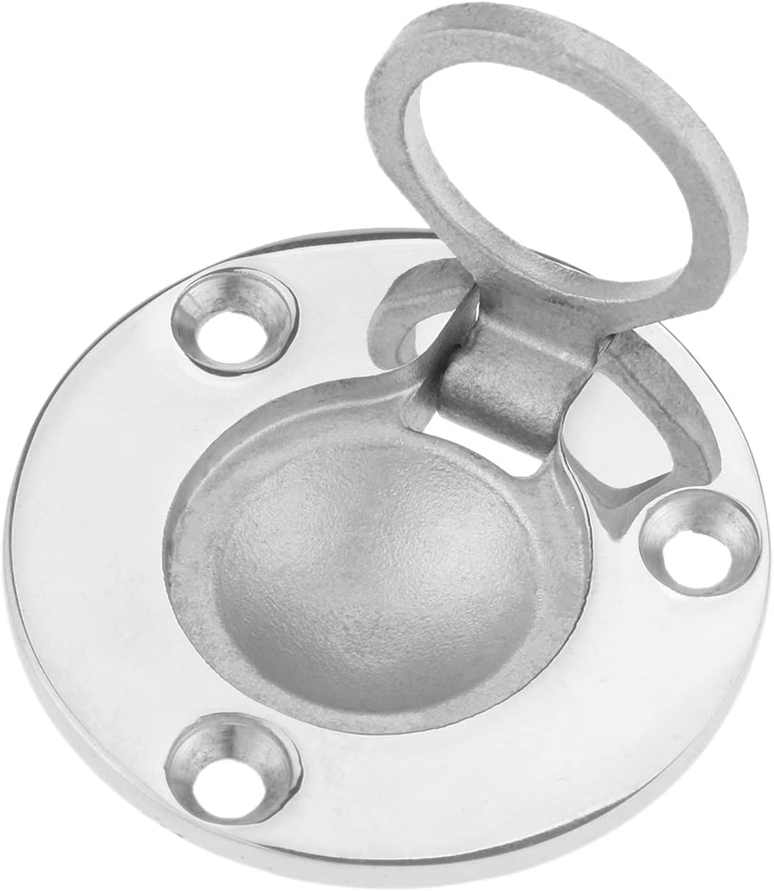 Marine Inventory cleanup selling sale Hardware 1Pc 316 Stainless Steel Hatch Handle free Boat Ring H