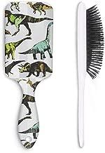 WZLAN Fierce Jungle Tyrannosaurus Rex Dinosaur Hair Brush Straightening Smoothing Hair Help Growth