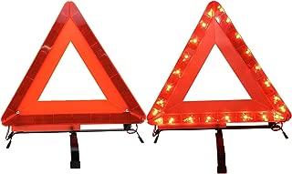 ALLUCK High Brightness LED Light Triple Warning Triangle
