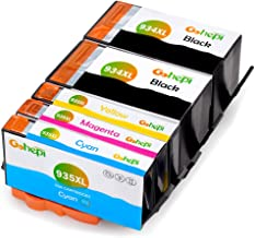 Gohepi 934 935 Sostituzione per HP 934XL 935XL Cartucce d'inchiostro Compatibile con HP Officejet Pro 6830 6230 6835 6820 6812 6815 6825 6836 (2 Nero, 1 Ciano, 1 Magenta, 1 Giallo)