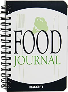 ATDAWN Food Journal/Food Diary/Diet Journal Notebook, 120 Pages - 3 1/2