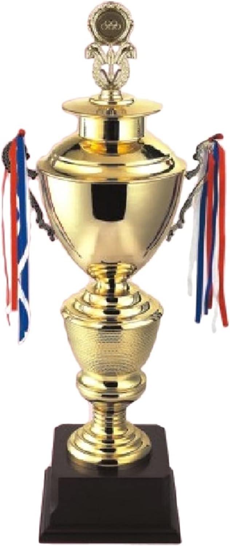 Trofeos de Metal Dorado, Extra Grande, Tenis, Tenis de Mesa, Voleibol, béisbol, bádminton Deportivo de Deportes (Color : Gold, Size : 85 * 22 * 22cm)