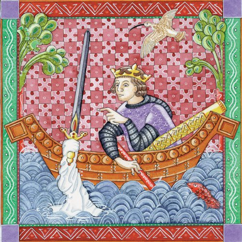 The Legend of King Arthur audiobook cover art