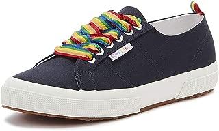 Superga 2750 COTW Rainbow Pop Womens Navy Trainers