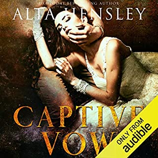 Captive Vow audiobook cover art