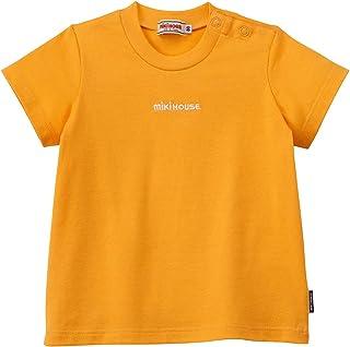 【ミキハウス】 Tシャツ 10-5203-452 男の子 女の子 キッズ ベビー 半袖 ロゴ 無地