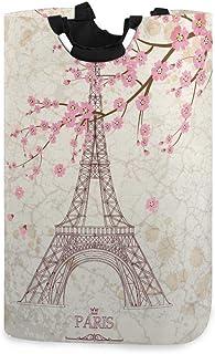 Panier à linge Alge Paris Tour Eiffel Floral Sakura Pliable Durable Panier de rangement Panier à linge Panier à linge Pani...