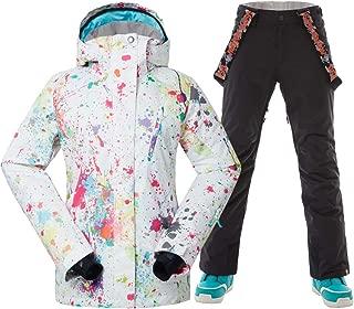 karbon emerald womens ski jacket