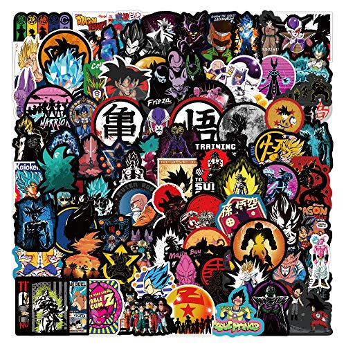 WWLL 100 Graffiti Stickers Waterproof Removable Trolley Case Notebook Scooter Refrigerator Living Room Mobile Phone Stickers