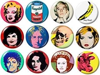 Andy Warhol Buttons
