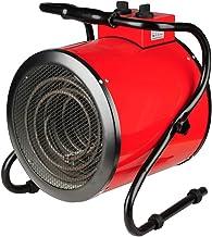 WILK Calentador De Ventilador Industrial/Comercial con 3 Configuraciones, Control Termostático Ajustable Y Protección contra Sobrecalentamiento, Ideal para Garajes Y Grandes Espacios Interiores, 3