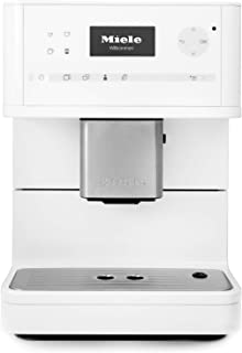 Miele CM6150 OneTouch Countertop Super Automatic Coffee & Espresso Machine (Lotus White) (Renewed)
