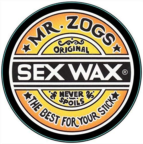 Circular Zogs Sex Wax Surfing Snowboarding Surf 3 Retro Metal Sign 12x12 Inch