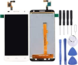 Cell Phone Replacement Parts LCD Screen and Digitizer Full Assembly for Alcatel One Touch Idol 2 Mini S / 6036 / 6036Y(Black) Mobilephone Rair Parts (Color : White)
