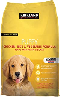 Puppy Formula Chicken, Rice and Vegetable Dog Food 20 lb - Selected by Dealmor