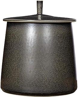 Pots à épices Riz Seau Accueil Cuisine Riz Seau Salon De Thé Cylindre Humidité Et Riz Insectproof Seau Céramique Réservoir...