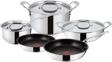 Tefal Jamie Oliver Premium Stainless Steel 5 Pieces Set H804S544 with Durable Exterior and Stylish Design