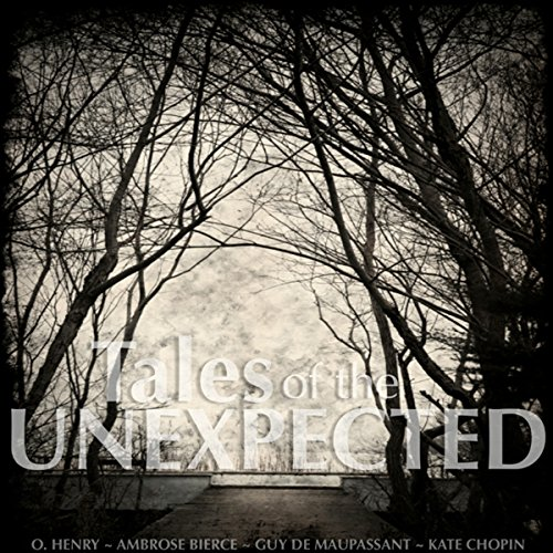 Tales of the Unexpected audiobook cover art