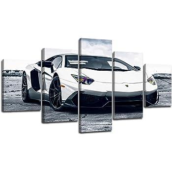 "Stunning Car Framed Canvas Print  A1 30/"" x 20/"""