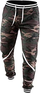Haoricu Men Sweatpants, Mens Camouflage Drawstring Trousers Casual Hip-Hop Harem Joggers-Pants Sweatpants with Pocket