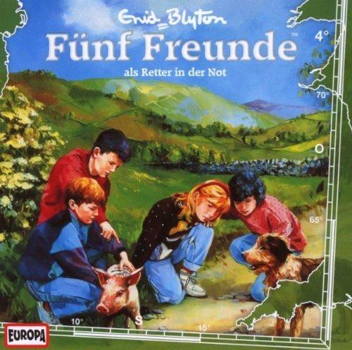 Fünf Freunde - CD / Fünf Freunde - als Retter in der Not (Hörspiele von EUROPA)