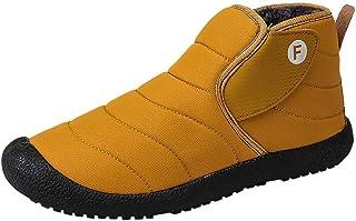 Ashui Chaussures Homme Femme Bottes Hiver imperméable Neige Randonnee Chaudement Chaudes Fourrure Baskets Bottines