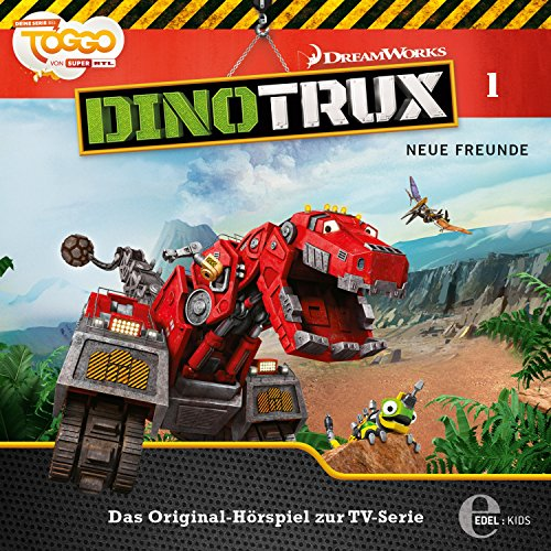 Neue Freunde     Dinotrux 1              Autor:                                                                                                                                 Thomas Karallus                               Sprecher:                                                                                                                                 Holger Mahlich,                                                                                        Jochen Langner,                                                                                        Christian Wunderlich,                   und andere                 Spieldauer: 39 Min.     6 Bewertungen     Gesamt 5,0