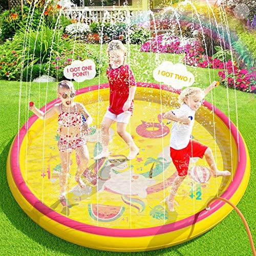 Inflatable Sprinkler Splash Pad