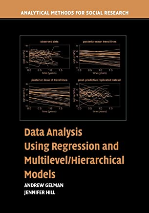 Amazon com: Data Analysis Using Regression and Multilevel