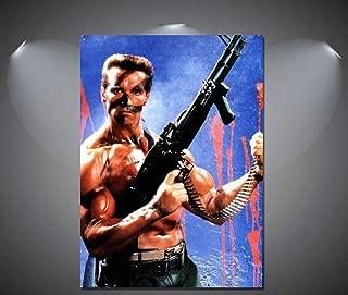 SAVA 147101 Commando Arnold Schwarzenegger Vintage Movie Decor Wall 32x24 Poster Print