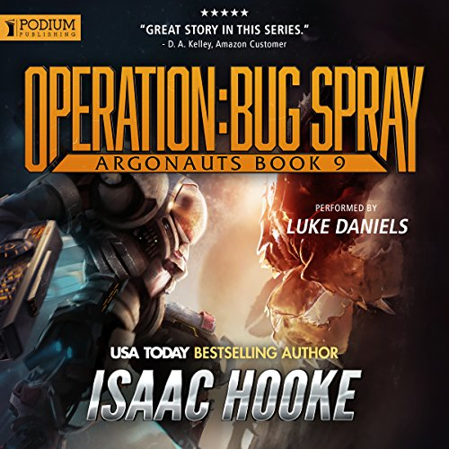 Operation: Bug Spray audiobook cover art