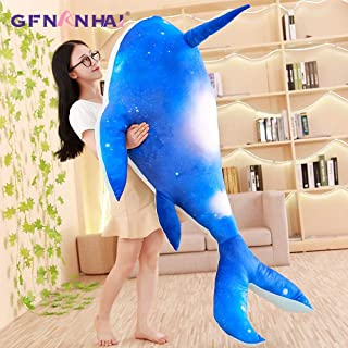1Pc 80/100Cm Giant Whale Plush Toy Squid Plush Pillow Ocean Animal Dolls Stuffed Toys For Children Boys Birthday Gift Toddler Must Haves Unique Gifts Girls Favourite Characters Must Have Gifts Super