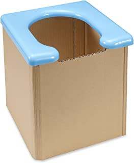 サンコー 非常用 簡易トイレ 日本製 組み立て簡単 耐荷重120kg 携帯 R-58