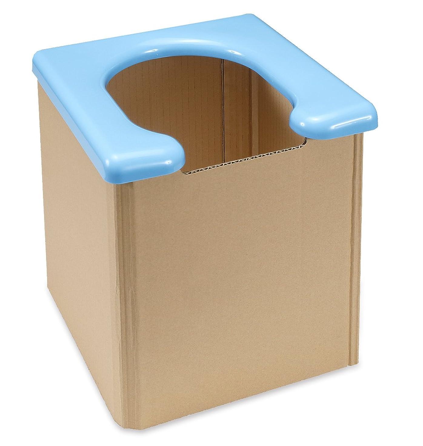 植物学者不均一計算可能サンコー 非常用 簡易トイレ 日本製 組み立て簡単 耐荷重120kg 携帯 R-58