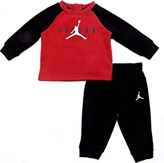 Air Jordan Baby Boys 2 Piece Sweatsuit - Red/Black