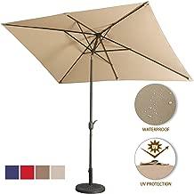 Best square tilt patio umbrella Reviews