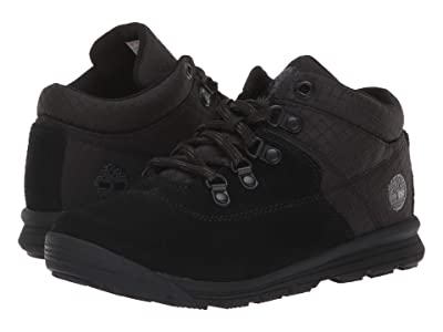 Timberland Kids GT Rally Mid (Little Kid) (Black Suede/Fabric) Kids Shoes