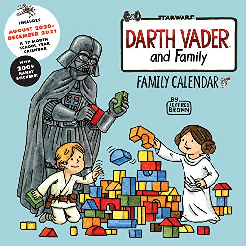 Darth Vader™ and Family: Family Wall Calendar (Includes August 2020–December 2021)