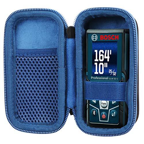 co2CREA Duro Viajar Caso Cubrir para Bosch Professional Medidor láser de distancia GLM 40/GLM 50 C (solo estuche, no contiene medidor láser)
