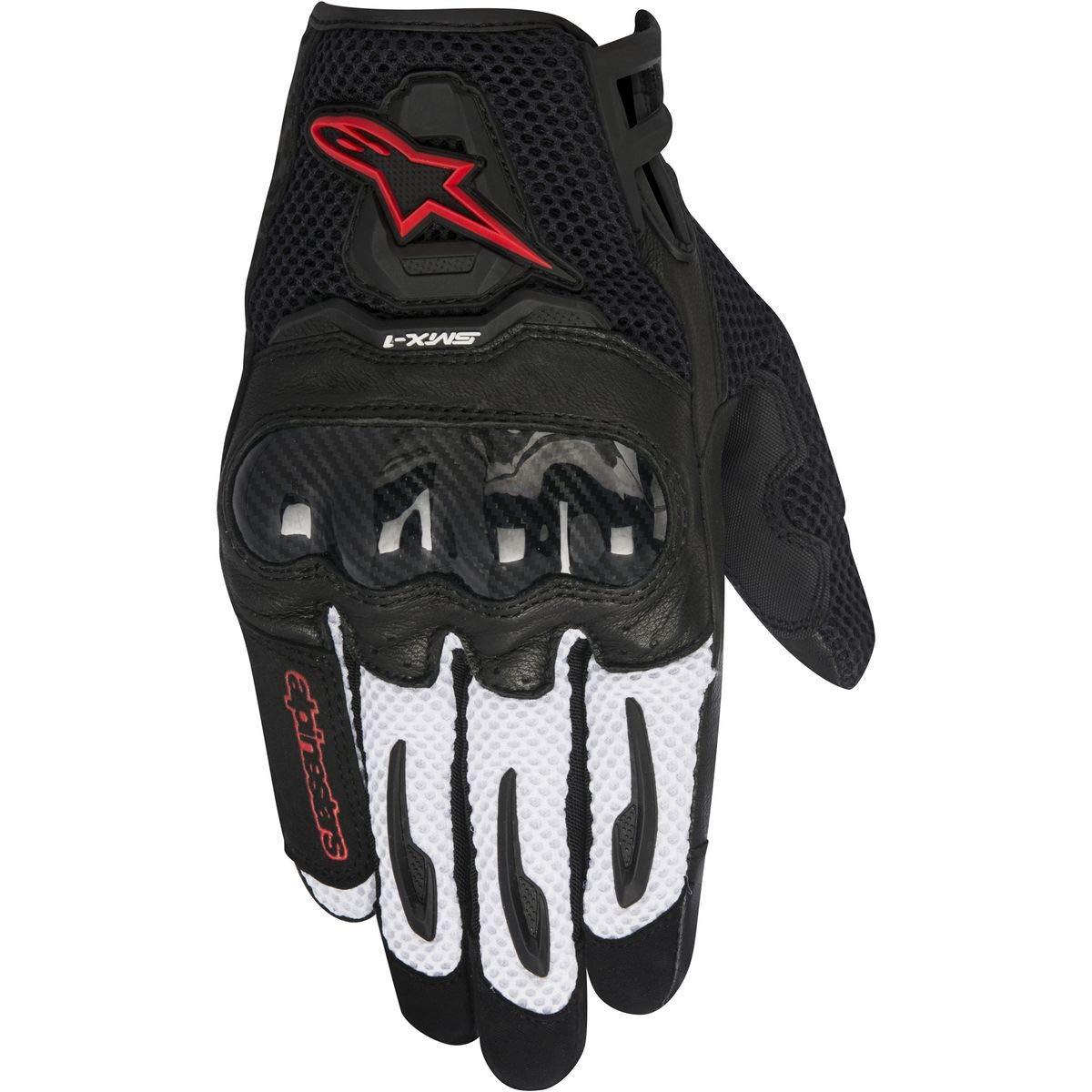 3301-2834 Alpinestars Unisex Adult Gloves Black//Red Small