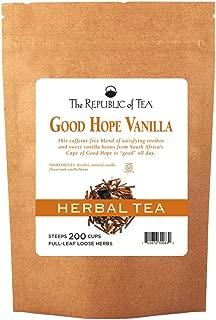 The Republic Of Tea Good Hope Vanilla Red Full-Leaf Tea, 1 Pound / 200 Cups