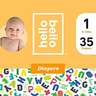 Hello Bello Diapers Alphabet Design